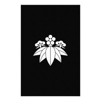 The Shochiku Co., Ltd. plum autumn bellflower Stationery
