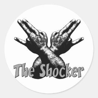 The Shocker Classic Round Sticker