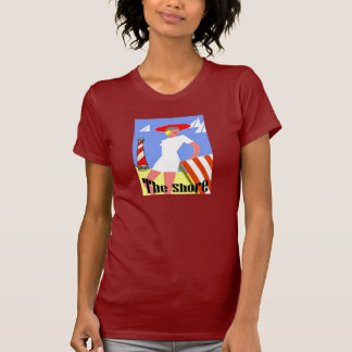 The Shore, Gal at Lighthouse Tshirts