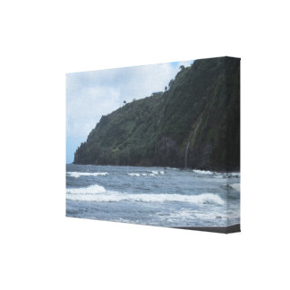 The Shores of Waipio Valley Canvas Print