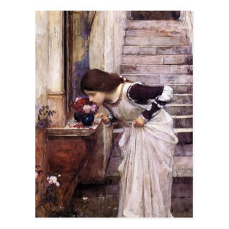 The Shrine  by John William Waterhouse Postcard