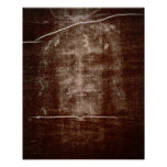The Shroud of Turin Holy Face of Jesus Poster