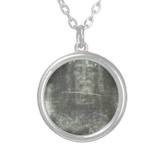 The Shroud Of Turin Silver Plated Necklace