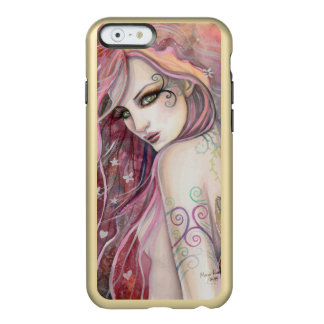 The Shy Flirt Abstract Fantasy Woman Art Incipio Feather® Shine iPhone 6 Case
