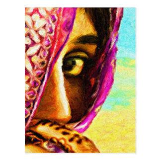 The Shy Girl Postcard