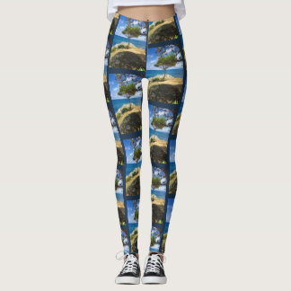 The Sicilian Buddha Tree Leggings