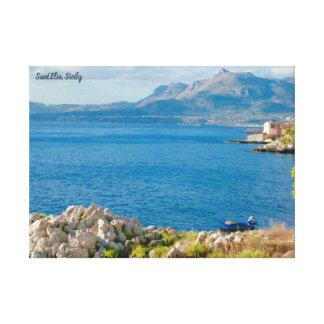 The Sicilian Fisherman Canvas Print