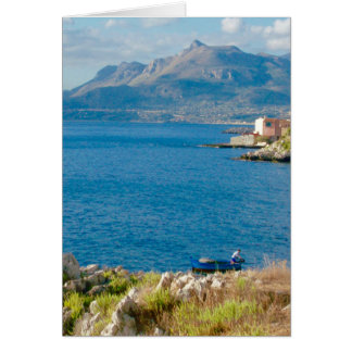 The Sicilian Fisherman Card