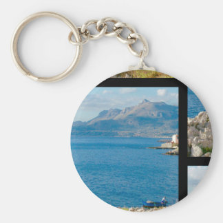 The Sicilian Fisherman Keychain