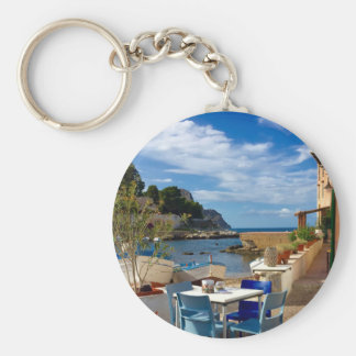 The Sicilian Fishing Village Keychain