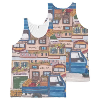 The Sicilian roving vendor's - All-Over-Print Tank Top