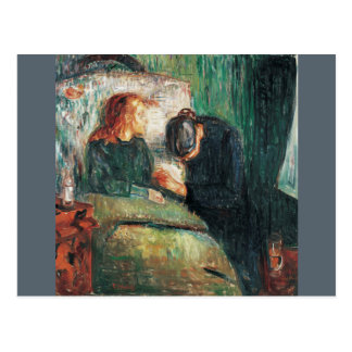 The Sick child by Edvard Munch, shows Sofie at her Postcard