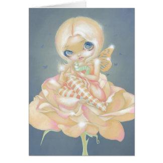 """The Sick Rose"" Greeting Card"