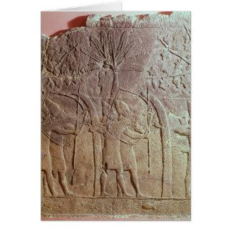 The Siege of Alammu by the army of Sennacherib Card