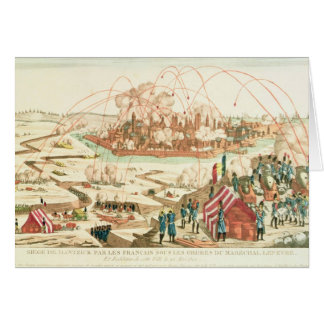 The Siege of Danzig Greeting Card