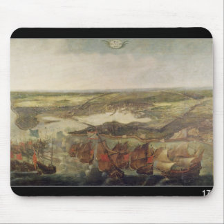 The Siege of La Rochelle in 1628 Mouse Pad