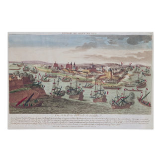 The Siege of Malta, 12th June 1798 Poster
