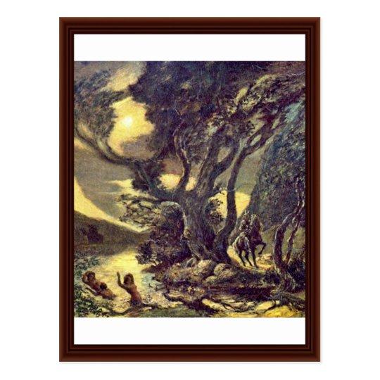 The Siegfried And The Rhine Maidens Postcard