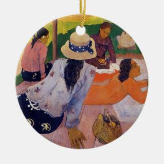 The Siesta - Paul Gauguin Ceramic Ornament