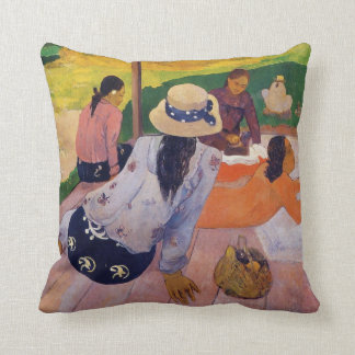 The Siesta - Paul Gauguin Pillow