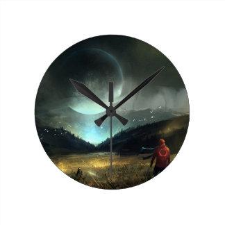 The Sightseer Round Clock