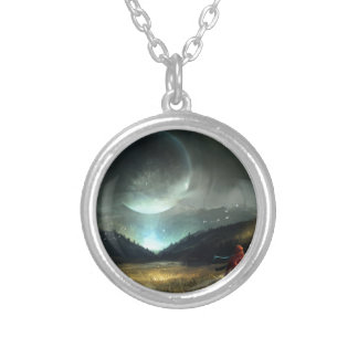 The Sightseer Silver Plated Necklace