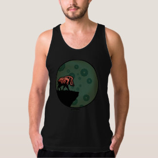 """The Silence of the Solitary Boar"" tank top"