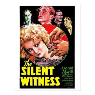 The Silent Witness Postcard