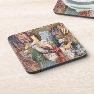 """The Silk Bazaar"" coasters"