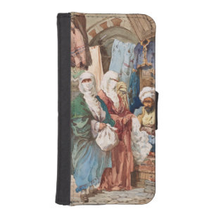 """The Silk Bazaar"" phone wallets"