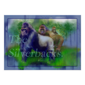 The Silver-Backs Poster