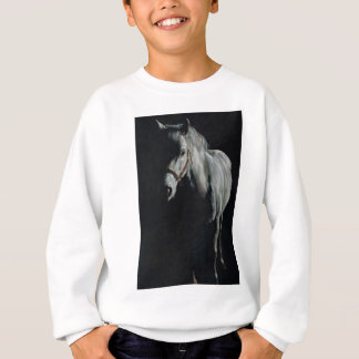 The Silver Horse in the shadows Sweatshirt