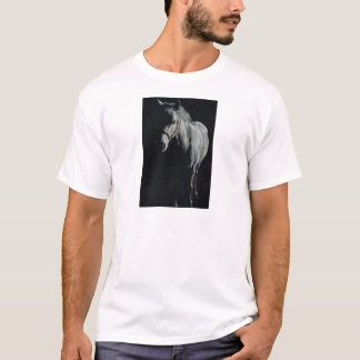 The Silver Horse in the shadows T-Shirt