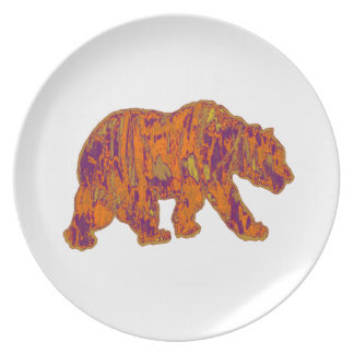 The Simple Bear Necessities Plate