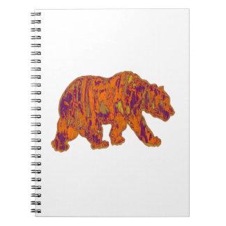The Simple Bear Necessities Spiral Notebook