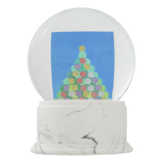 The Simple Christmas Tree Snowglobe