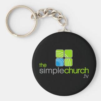 The Simple Church Keychain
