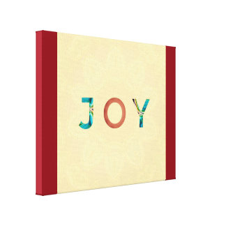 The Simplicity of Joy Canvas Print