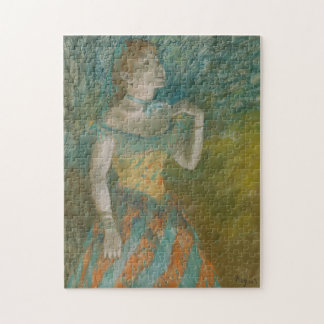 The Singer in Green Jigsaw Puzzle