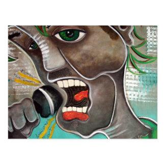 The SInger Postcard