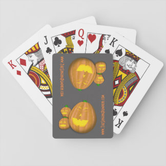 The Singing Pumpkin Playing Cards