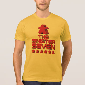 The Sinister Seven Meeple Weathered T-Shirt