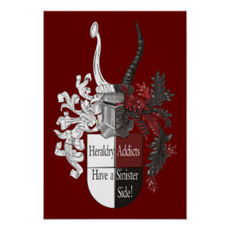 The Sinister Side of Heraldry Poster