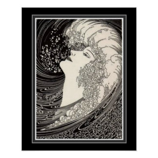 """The Siren Voice"" Art Deco Print 16 x 20 ca 1937"