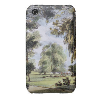 The Sister Trees, Kew Gardens, plate 8 from 'Kew G iPhone 3 Case