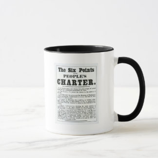 The Six Points of the People's Charter Mug