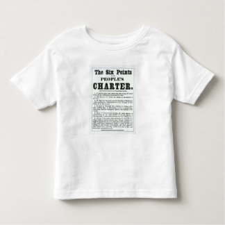 The Six Points of the People's Charter Toddler T-shirt