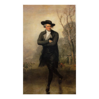 The Skater, by Gilbert Stuart Poster