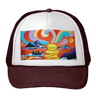 The Skellig Island Range Trucker Hat