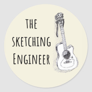 guitar sketch gifts on zazzle ca